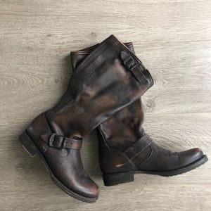 Veronica slouch Frye boots